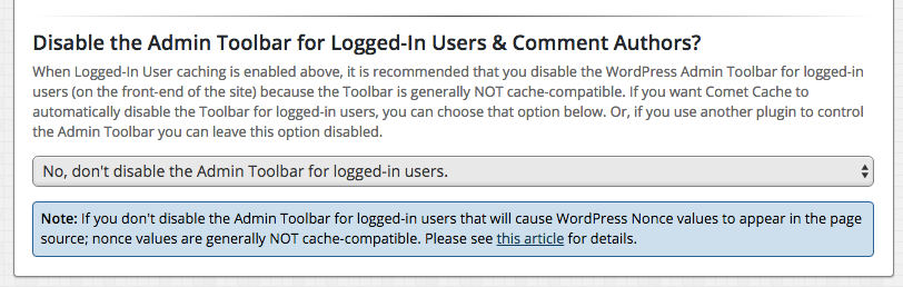 Disable Admin Toolbar for Logged-In Users?