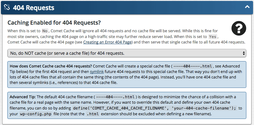 Feature: 404 Requests