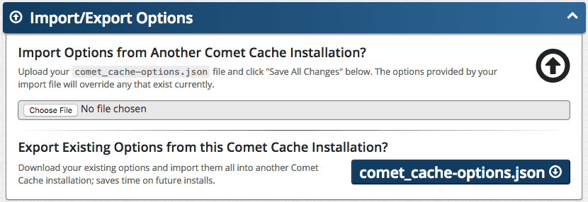 Comet Cache™ | An advanced WordPress cache plugin inspired by